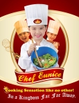 CHEF EUNICE ART POSTER